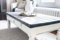 Farmhouse Coffee Table Makeover Home Inspo Coffee Table Makeover throughout proportions 1080 X 1440