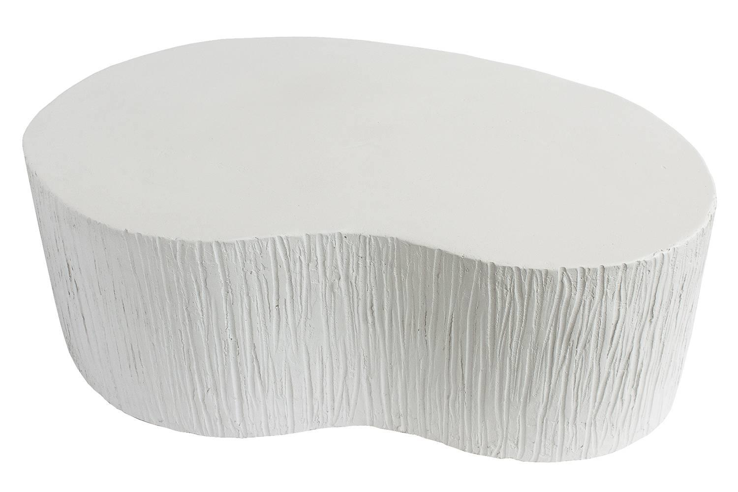 Faux Plaster Textured Coffee Table At 1stdibs with regard to size 1500 X 1000