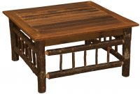Fireside Lodge Hickory Coffee Table Wayfair within measurements 1130 X 770