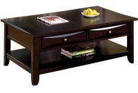 Furniture Of America Baldwin Espresso Coffee Table Cm4265dk C L regarding sizing 1000 X 1000