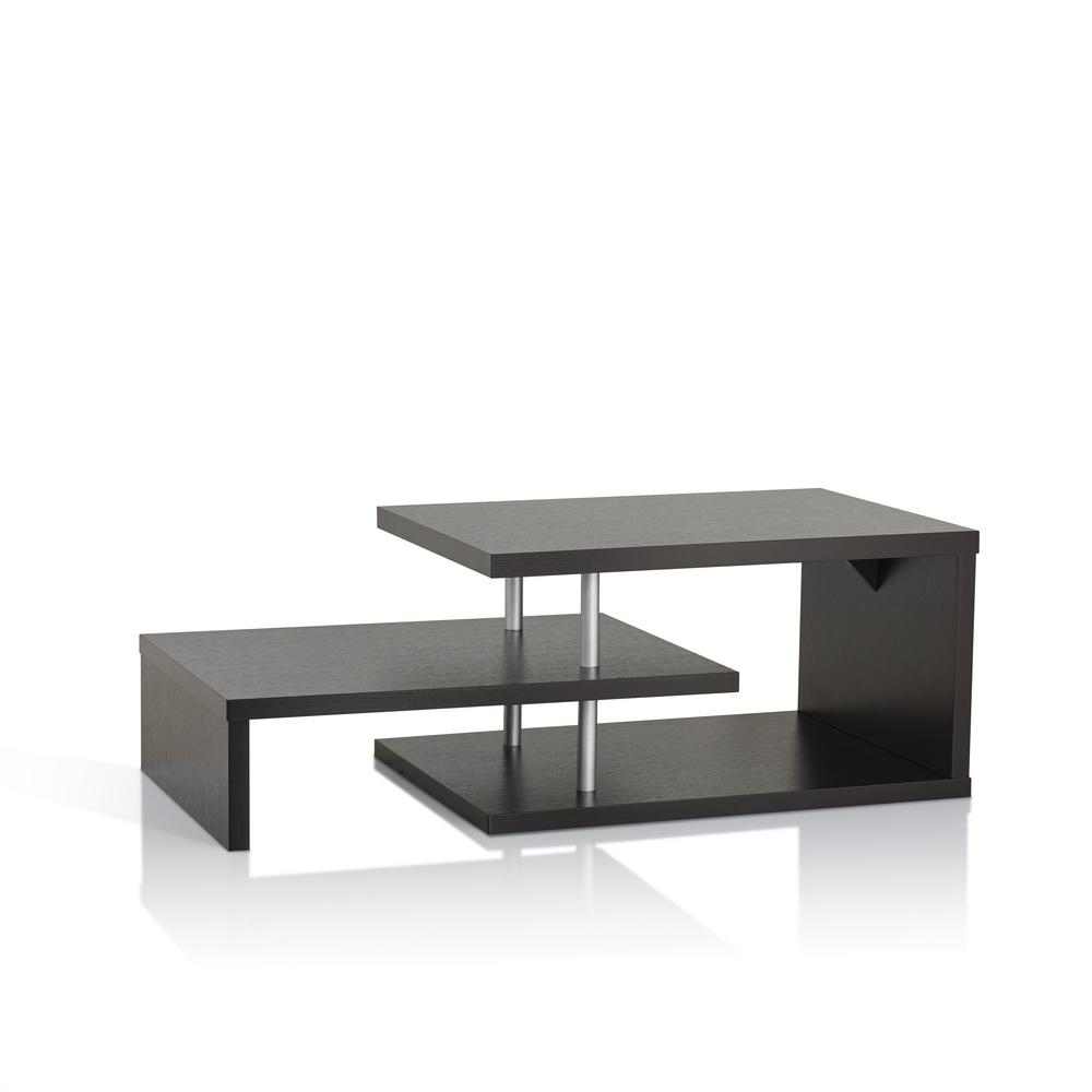 Furniture Of America Derrick Cappuccino Coffee Table Id 10350ct intended for dimensions 1000 X 1000