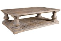 Gamble Rustic Lodge Salvaged Fir Stone Wash Coffee Table Kathy Kuo intended for dimensions 1000 X 1000