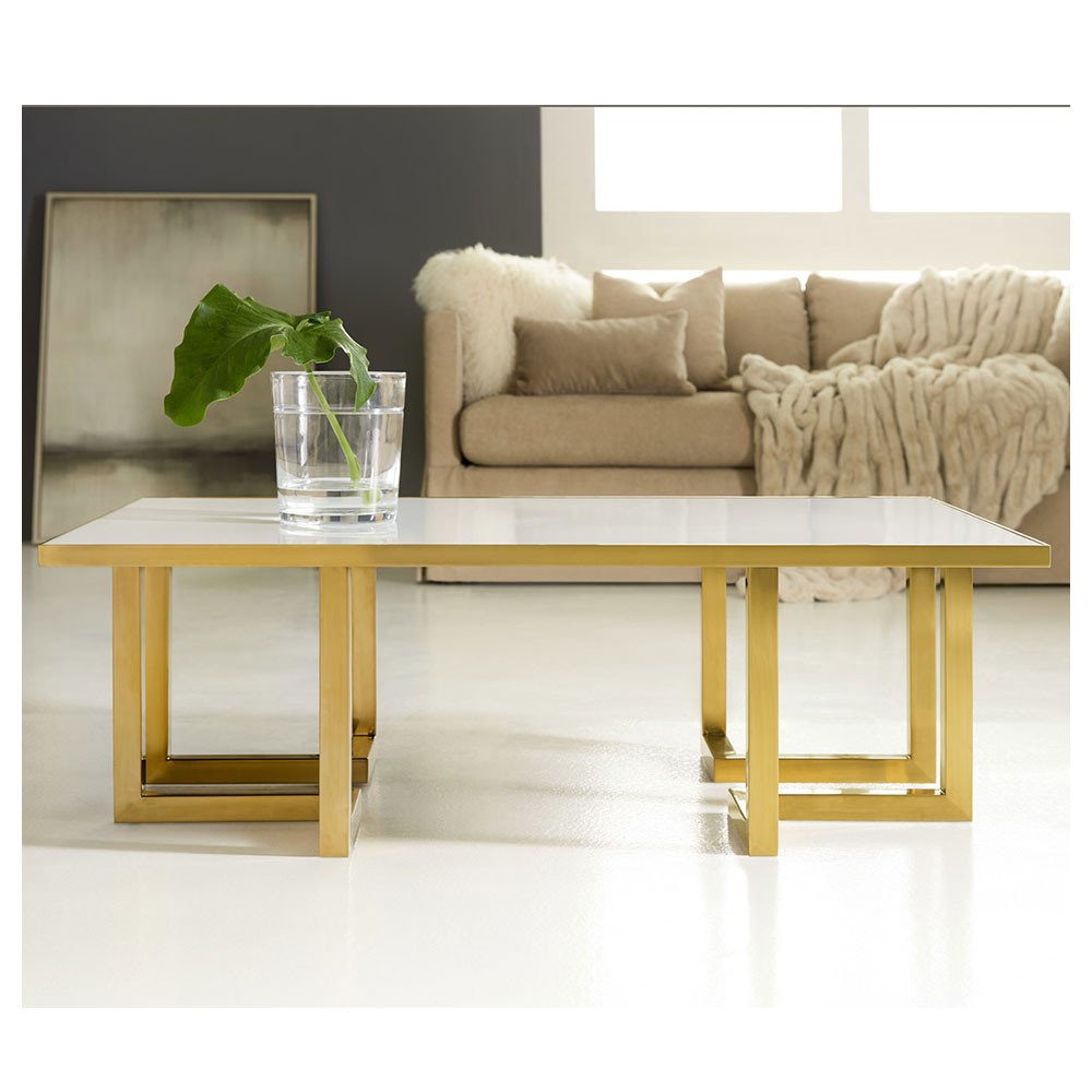 Geometric Cocktail Table White Acrylic Modern History Mhx 51 intended for proportions 1000 X 1000