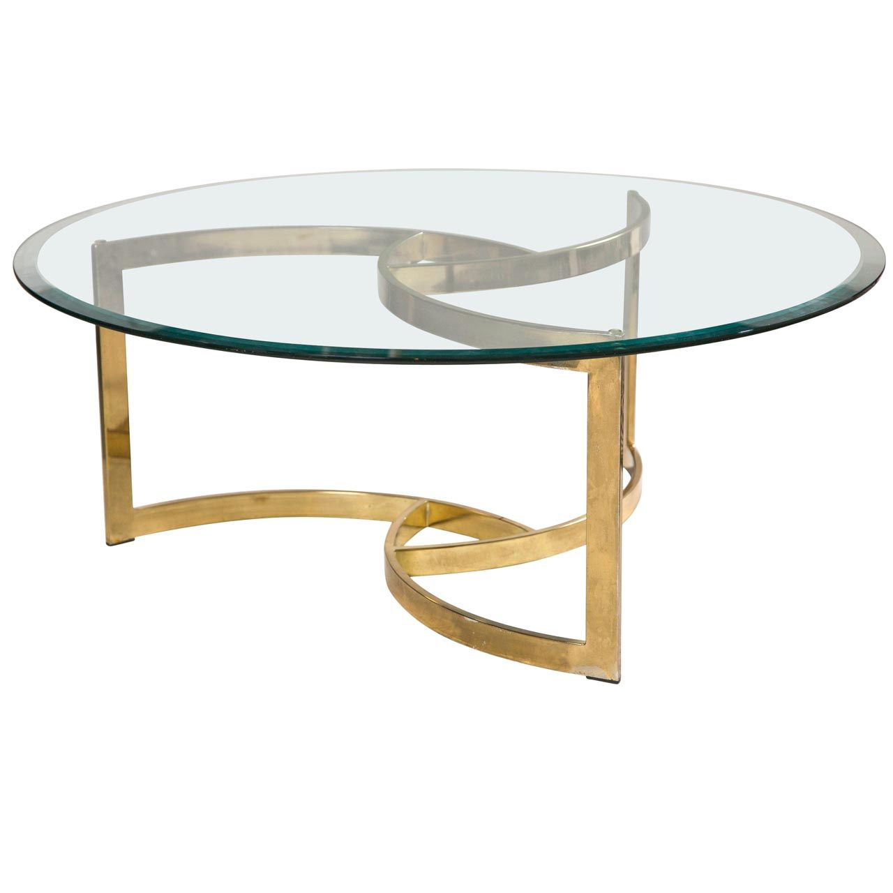 Glass Coffee Table Gold Legs Coffee Tables Glass Top Coffee regarding proportions 1280 X 1280