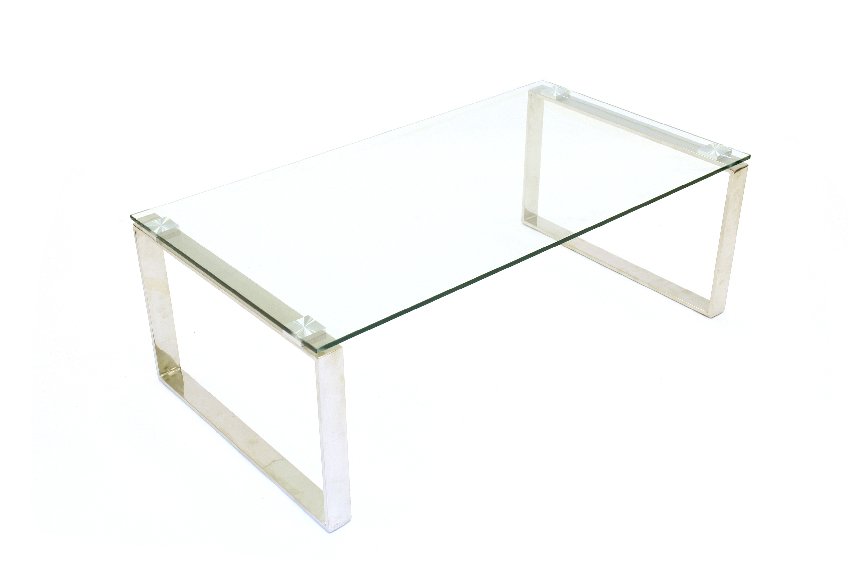 Glass Coffee Tables For Hire Silver Metal Frame Be Event Hire in sizing 3504 X 2336