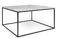 Gleam White Marble Black Coffee Table Temahome Eurway regarding sizing 900 X 900