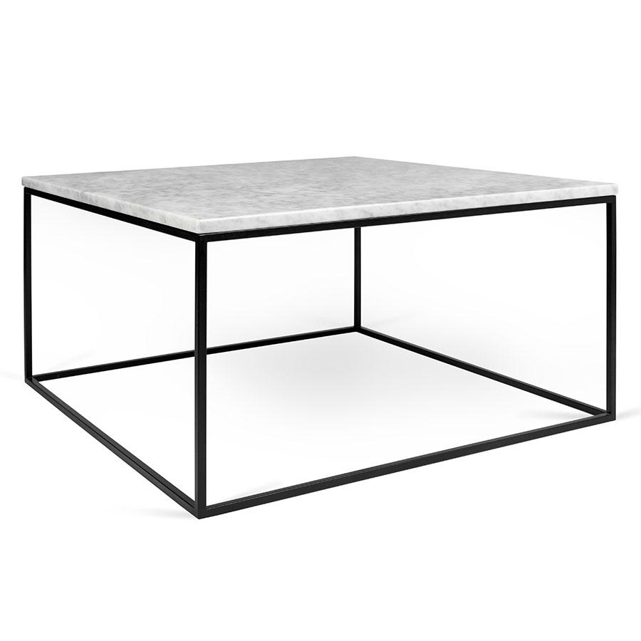 Gleam White Marble Black Coffee Table Temahome Eurway regarding sizing 900 X 900