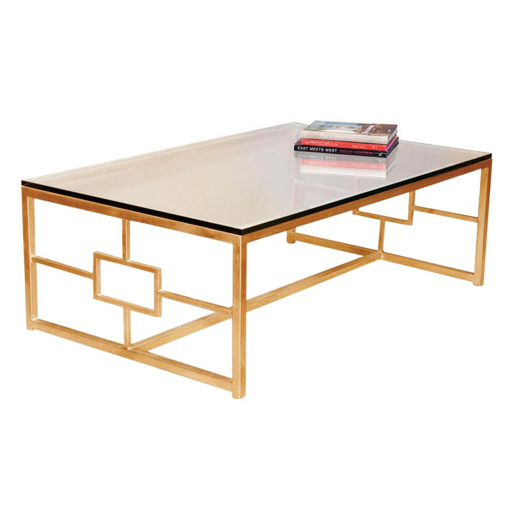 Gold Coffee Table Contemporary Boutique Style Antique Finish inside dimensions 1000 X 1022