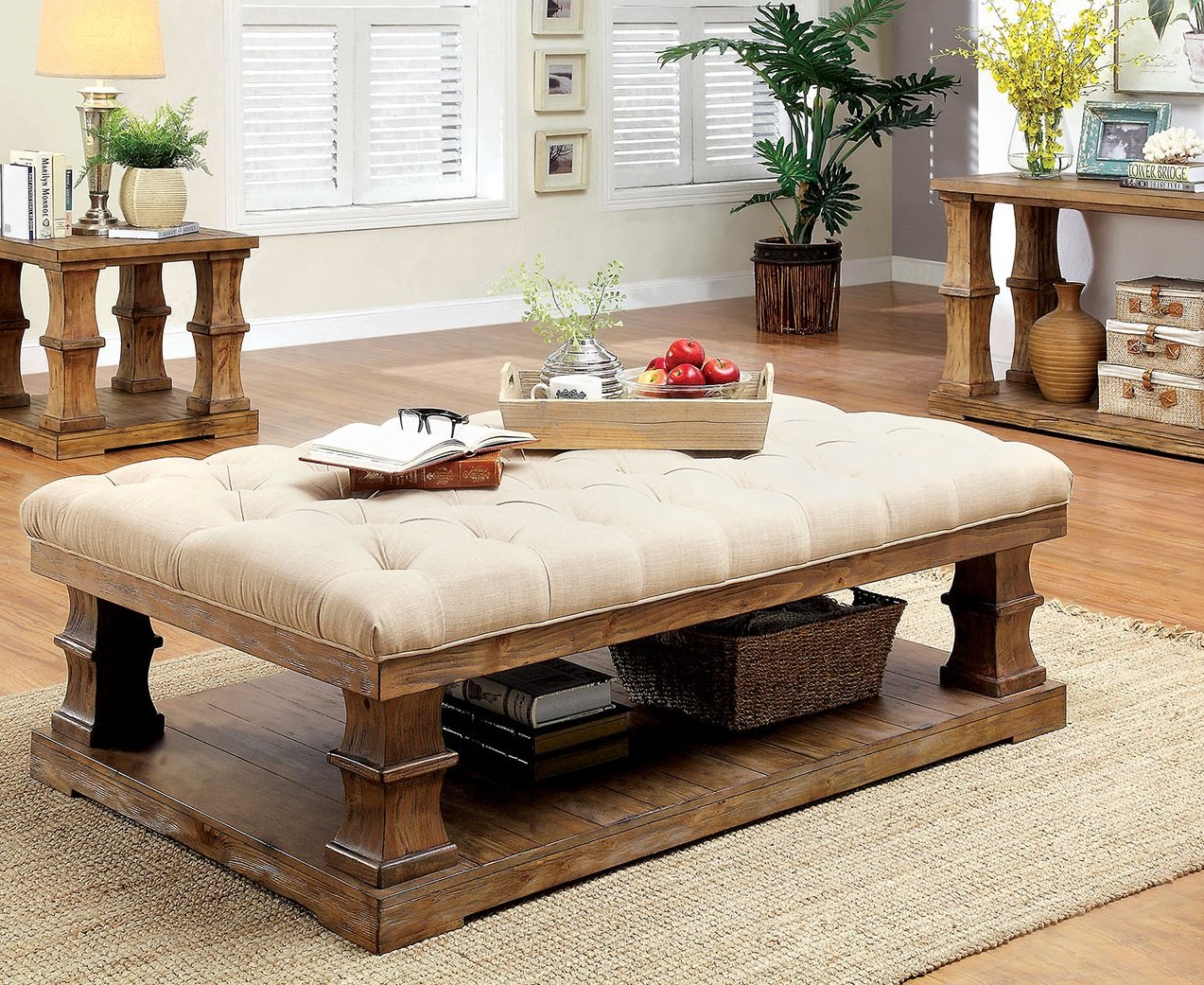 Gracie Oaks Charlotte Coffee Table With Cushion Top Wayfair in dimensions 1273 X 1041