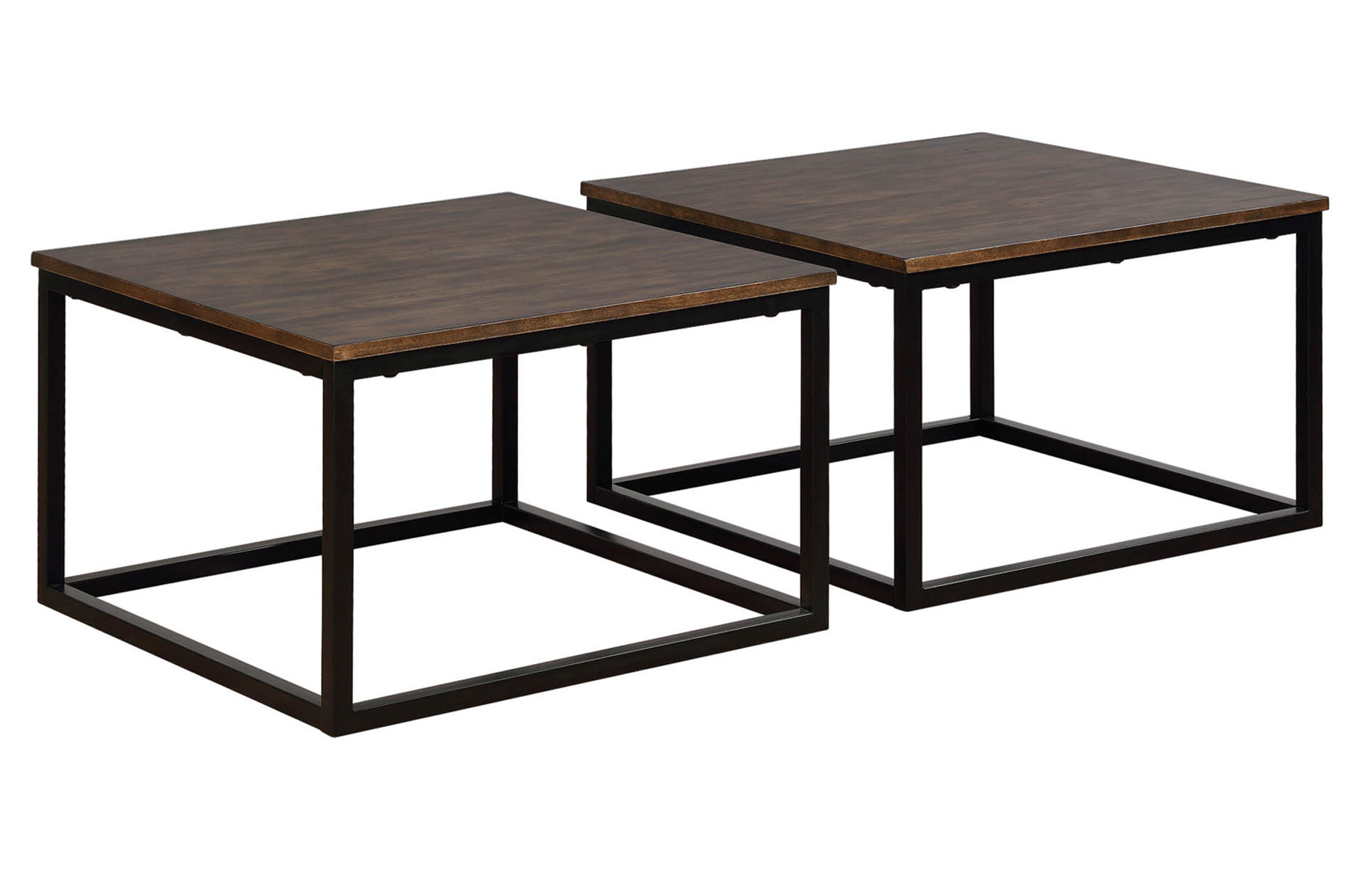 Gracie Oaks Hensley 2 Piece Square Coffee Table Set Wayfair with measurements 1860 X 1220