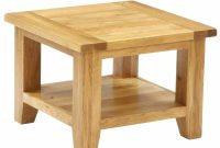 Granville Oak Living Room Furniture Square Coffee Table With Shelf with size 1000 X 1000