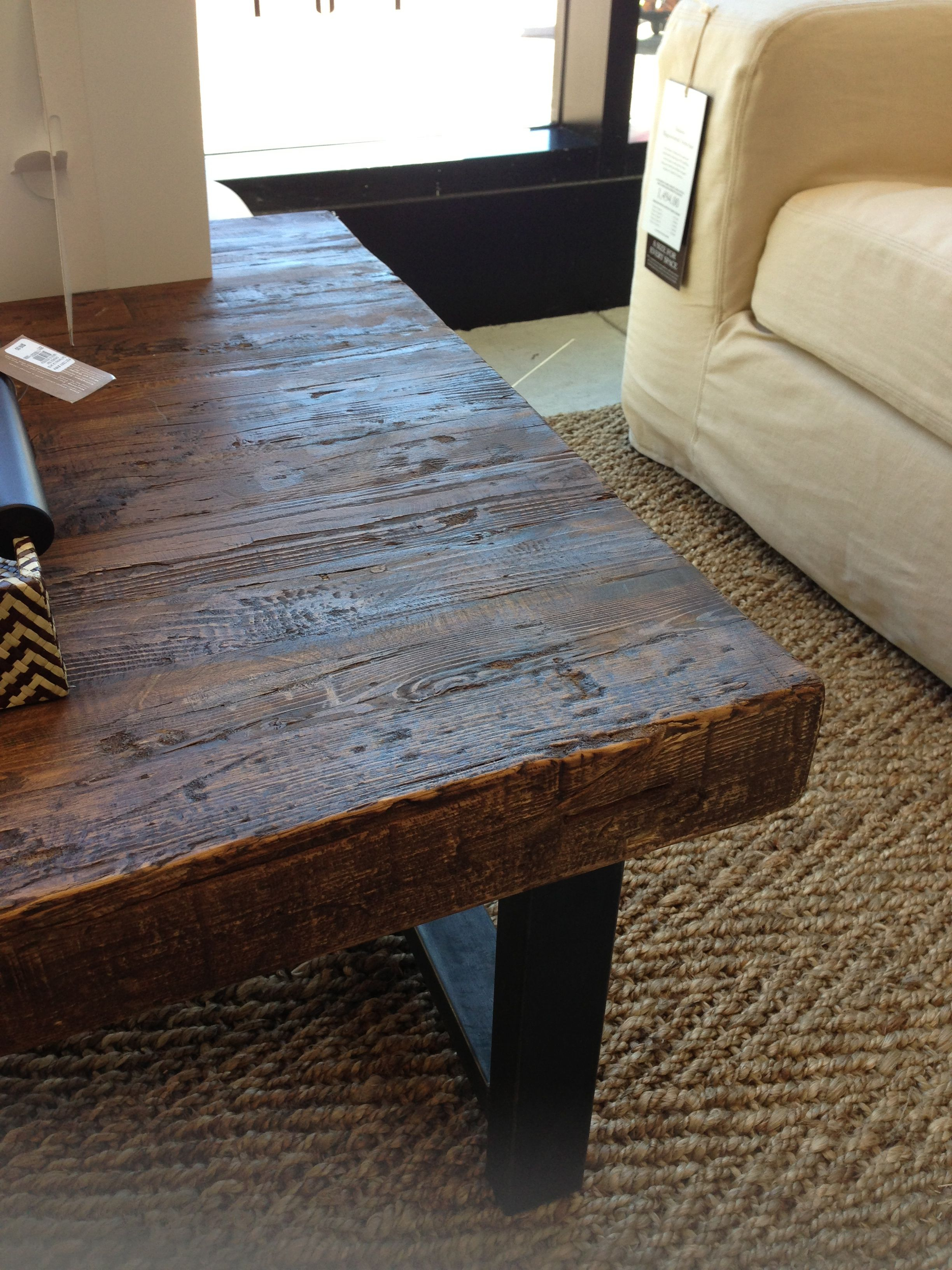 Griffin Reclaimed Wood Coffee Table Charleston Living Room Diy throughout sizing 2448 X 3264