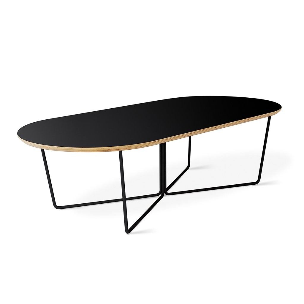 Gus Modern Array Coffee Table Oval for proportions 1024 X 1024