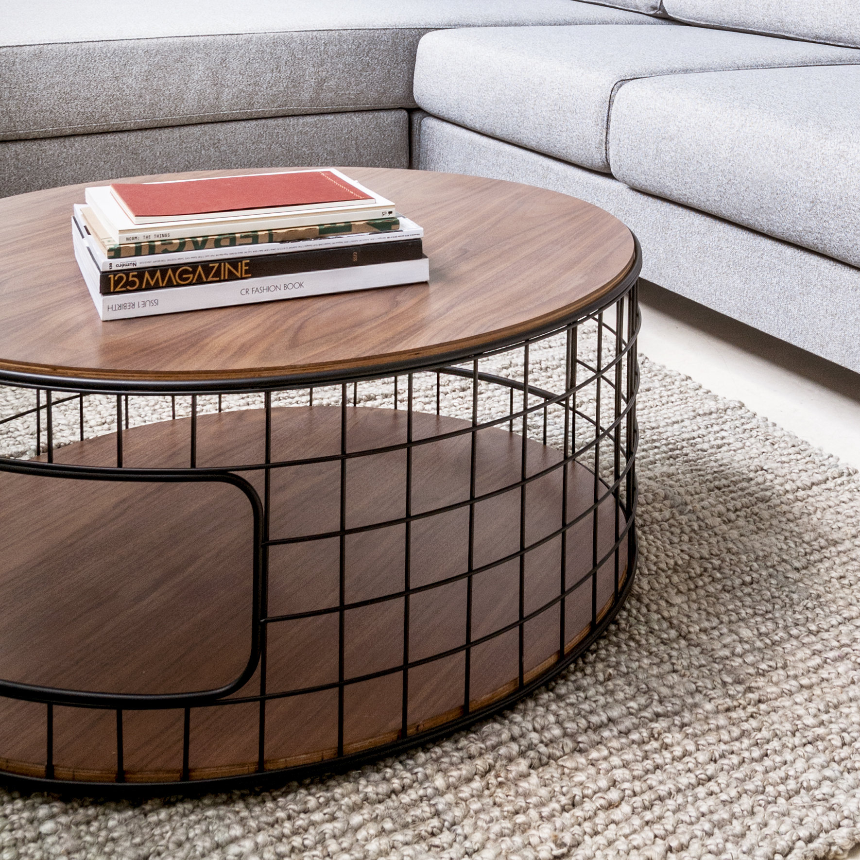 Gus Modern Wireframe Coffee Table Reviews Wayfair throughout size 1770 X 1770