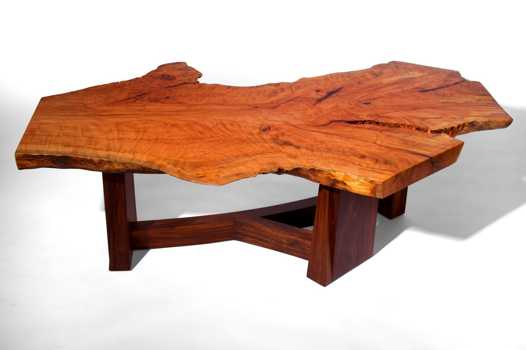 Hand Made Live Edge Beech Slab Coffee Table J Holtz Furniture inside proportions 1800 X 1200