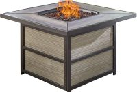 Hanover Chateau Aluminum Outdoor Coffee Table With Gas Fire Pit regarding sizing 1000 X 1000