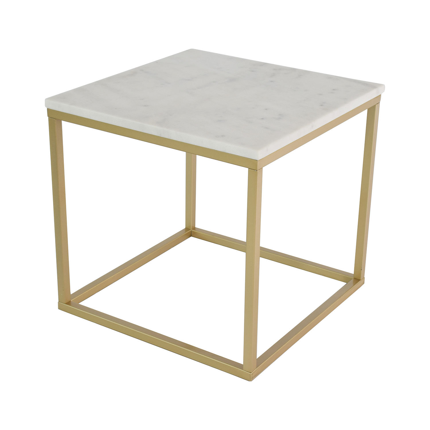 Hazelwood Home Marble Square Coffee Table Wayfaircouk for size 1500 X 1500