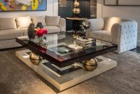 High End Square Ebony Coffee Table Juliettes Interiors inside measurements 1000 X 1000
