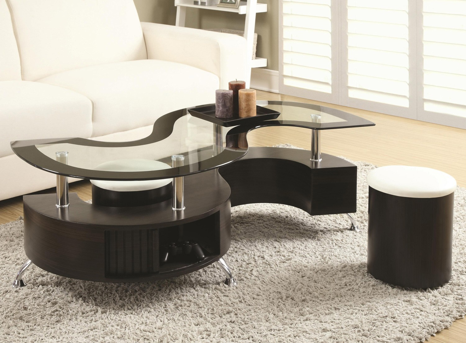 If 2050 S Shaped Coffee Table Set With 2 End Tables Get in size 1500 X 1105