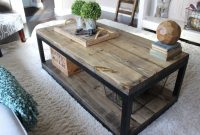 Industrial Coffee Table Made The Rugged Rooster Creations intended for dimensions 1100 X 733