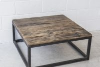 Industrial Square Coffee Table The Beach Furniture throughout sizing 2659 X 2659