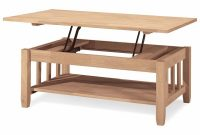 International Concepts Mission Solid Wood Lift Top Coffee Table with regard to size 1000 X 1000