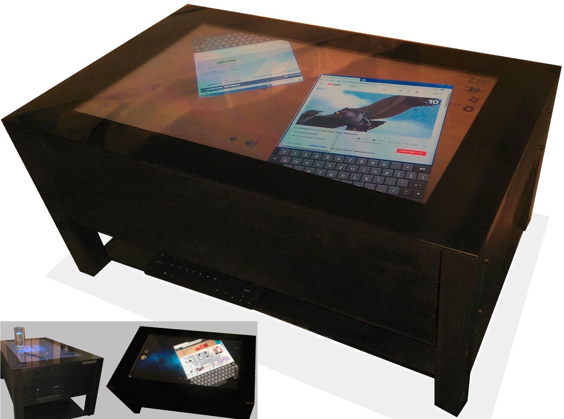 Jigate Touch Screen Coffee Tables with regard to size 1842 X 1368