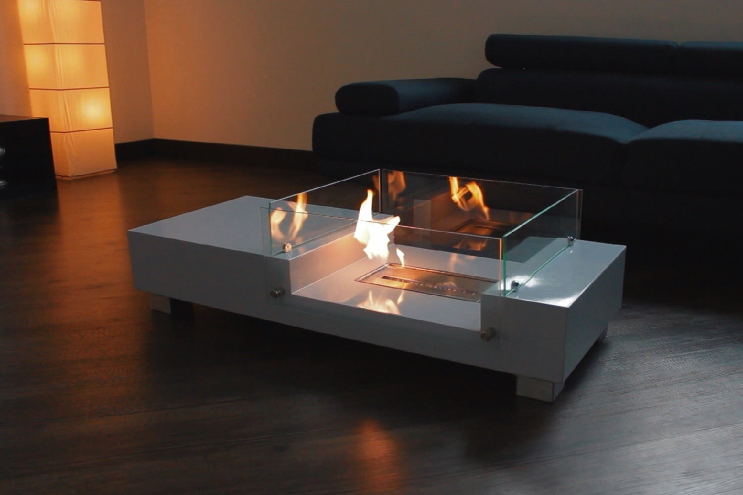 Kickstarters Fireplace Coffee Table Is So Hot Right Now Digital with regard to measurements 1500 X 1000