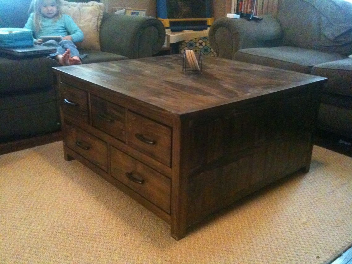 Large Coffee Table With Drawers Google Search For The Home pertaining to dimensions 1138 X 853