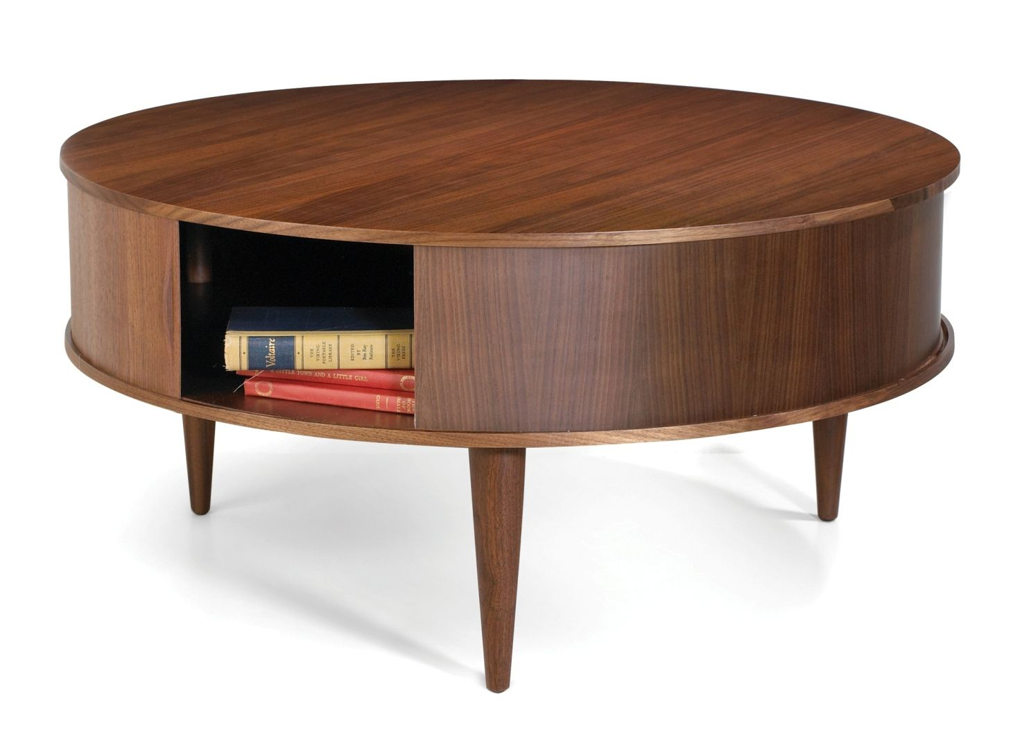 Large Round Coffee Table With Storage Ideas For The House In 2019 inside dimensions 1461 X 1066