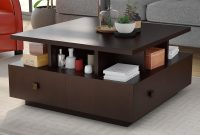 Latitude Run Square Coffee Table With Storage Reviews Wayfair intended for proportions 2000 X 2000