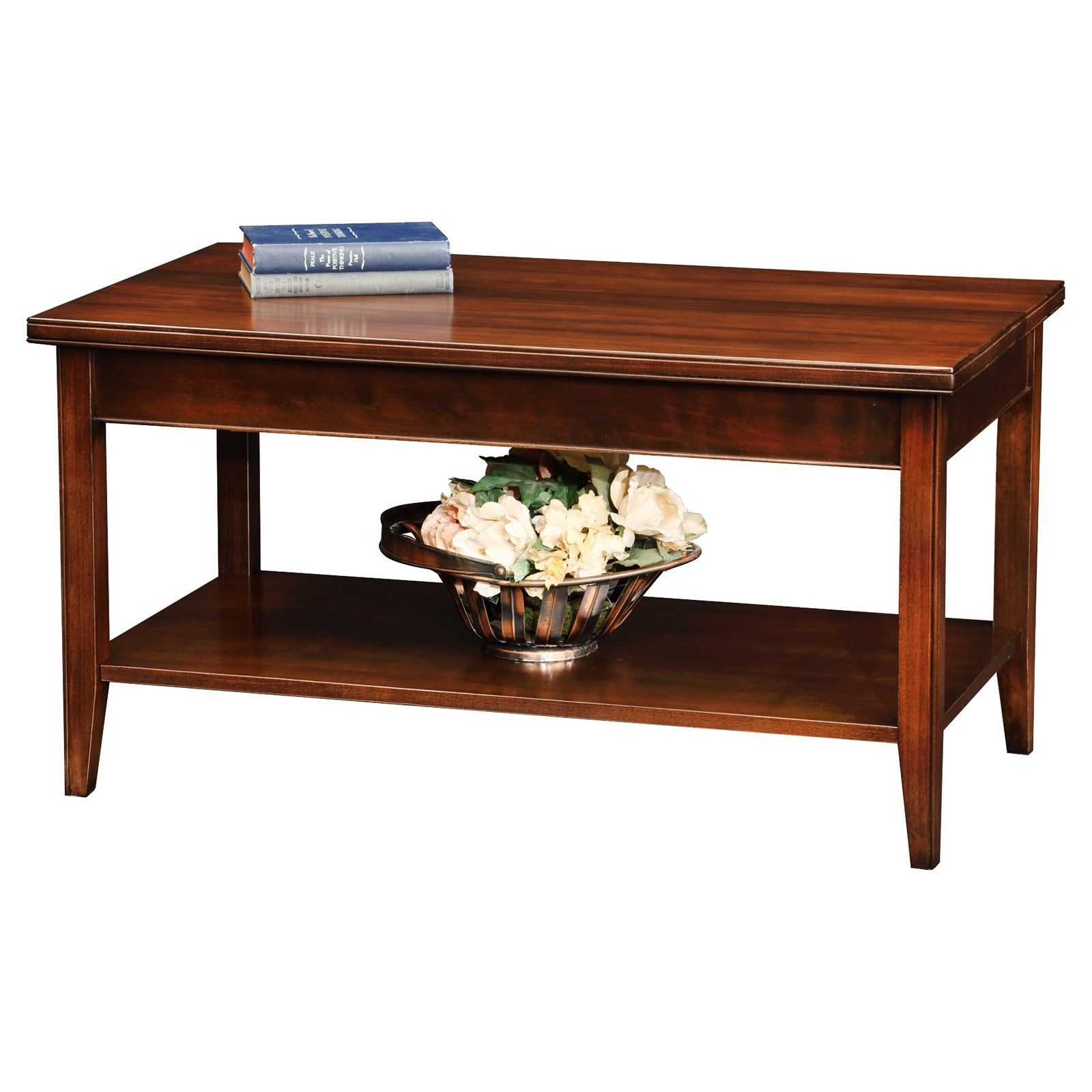 Leick Home Condoapartment Coffee Table Walmart pertaining to proportions 1600 X 1600