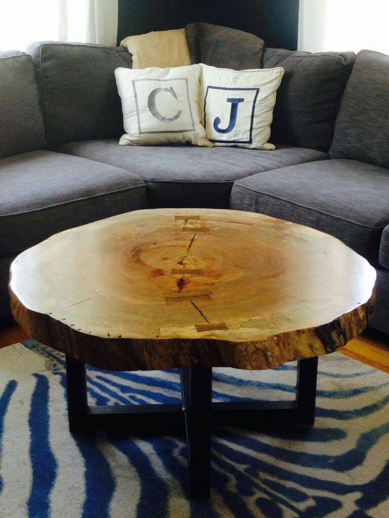 Live Edge Round Tree Log Coffee Table Got Wood Log Coffee Table for dimensions 768 X 1024