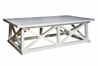 Luc Coastal Beach White Wash Coffee Table Kathy Kuo Home regarding measurements 1000 X 979
