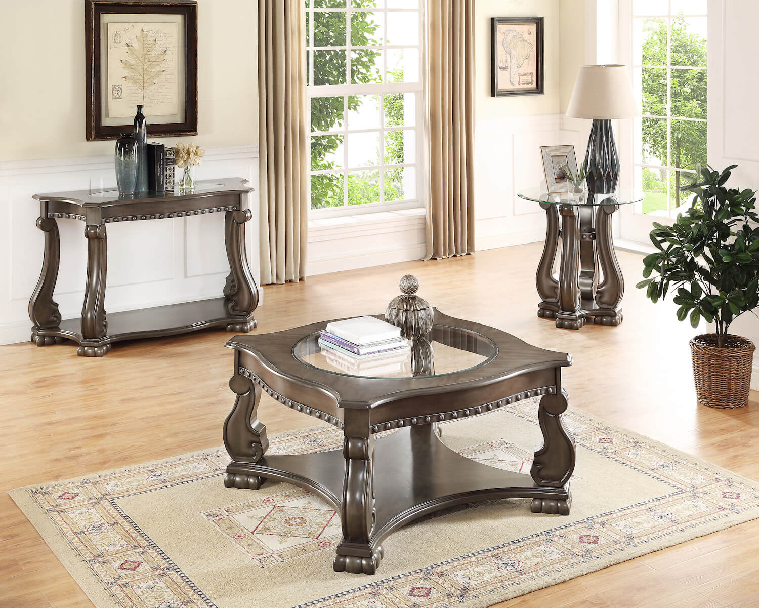 Madison Grey Coffee Table Occasional Tables Living Room Sets with regard to dimensions 1500 X 1201