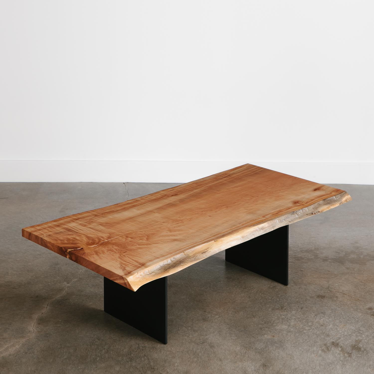 Maple Coffee Table Elko Hardwoods Modern Live Edge Furniture in measurements 1500 X 1500