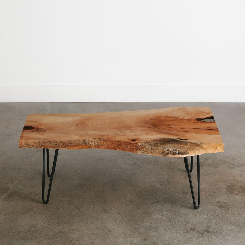 Maple Coffee Table Elko Hardwoods Modern Live Edge Furniture inside size 1500 X 1500