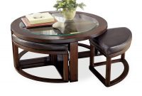 Marion Round Coffee Table With 4 Stools Hom Furniture in measurements 1500 X 1313