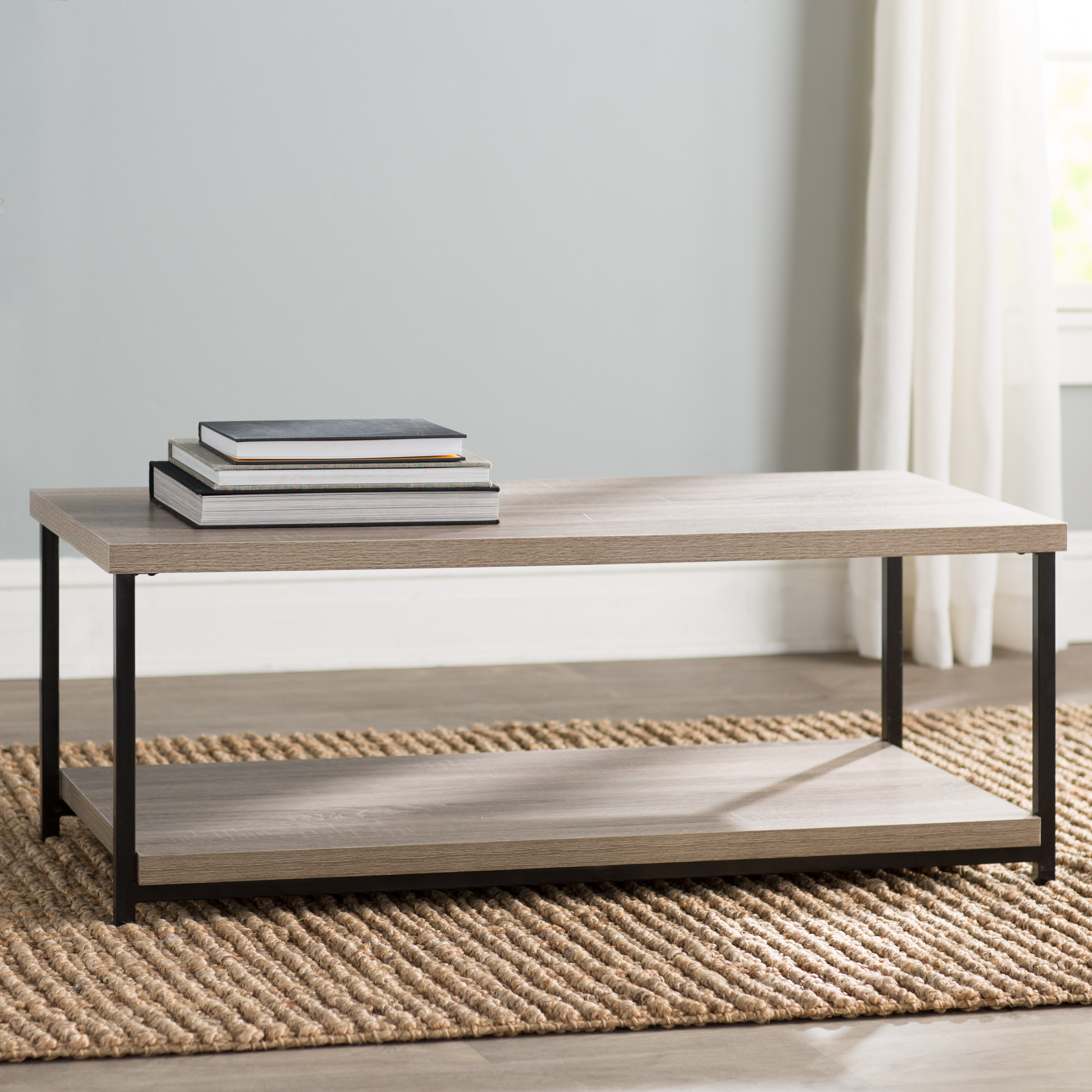 Mercury Row Landis Coffee Table With Tray Top Reviews Wayfair throughout measurements 3513 X 3513