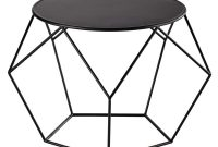 Metal Round Coffee Table In Black Prism Maisons Du Monde within sizing 1000 X 1000