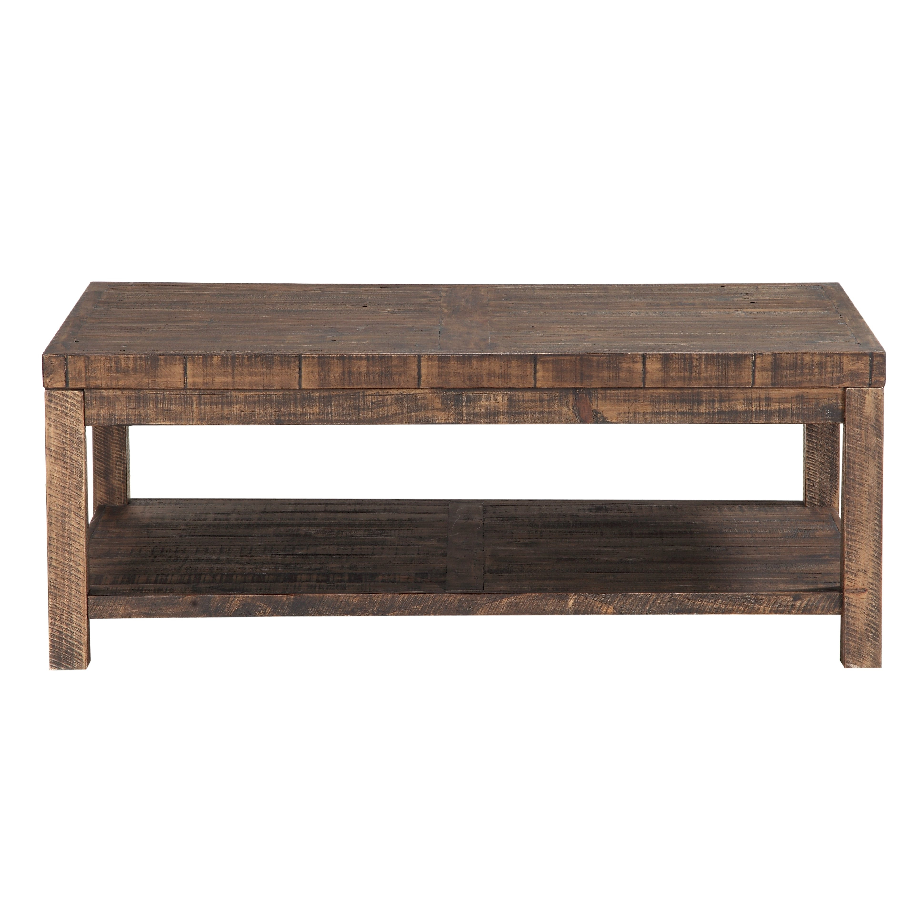 Millwood Pines Stamant Reclaimed Wood Coffee Table Reviews Wayfair throughout proportions 3880 X 3880
