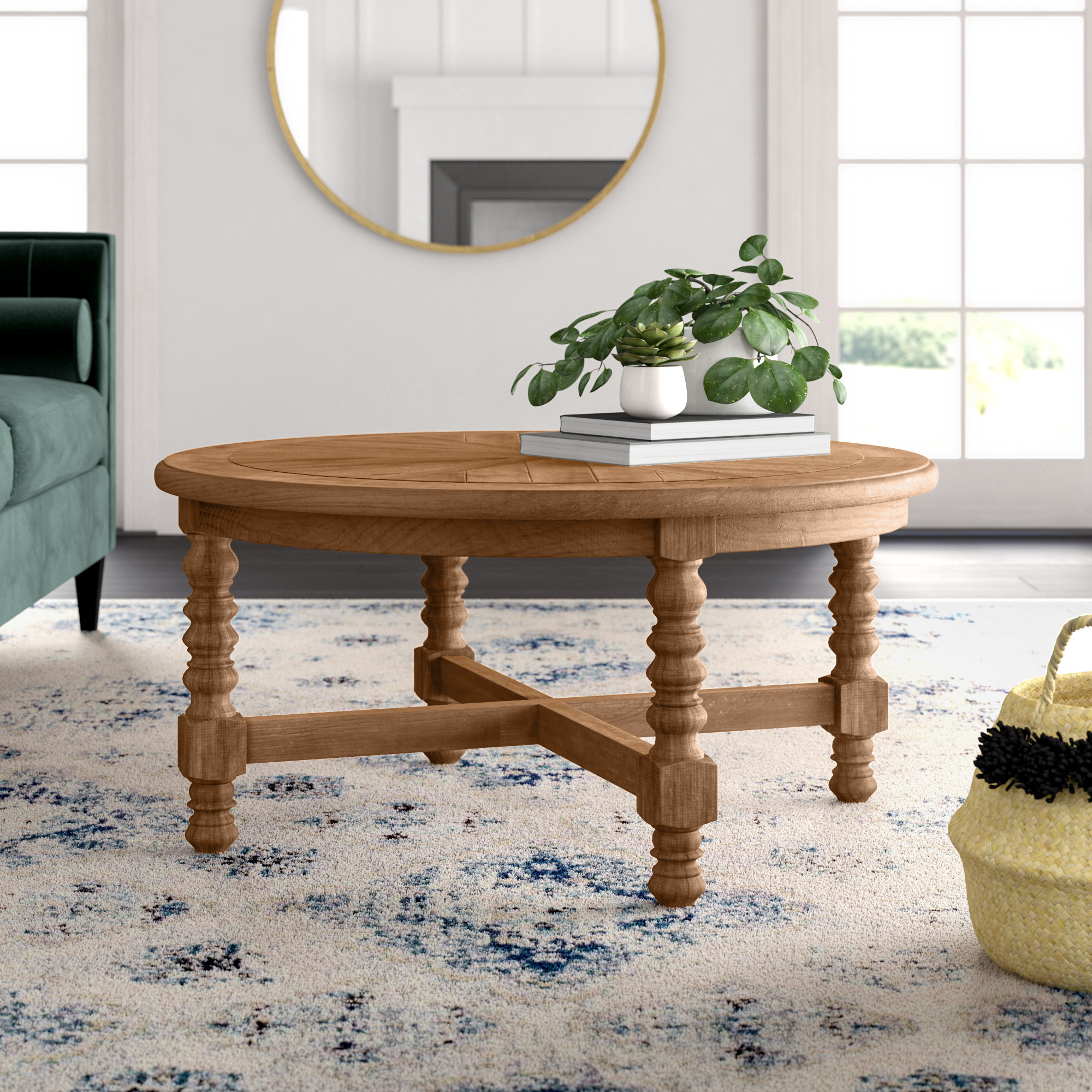 Mistana Haylie Wooden Coffee Table Reviews Wayfair within dimensions 2000 X 2000
