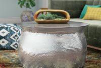 Mistana Vanesa Hammered Coffee Table Reviews Wayfair for measurements 2000 X 2000