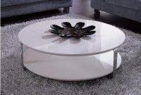 Modern White Round Coffee Table College Apartment White Round pertaining to sizing 1199 X 1141