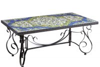 Multi Colored Javan Mosaic Coffee Table Wrought Iron Outdoor regarding measurements 1500 X 1500