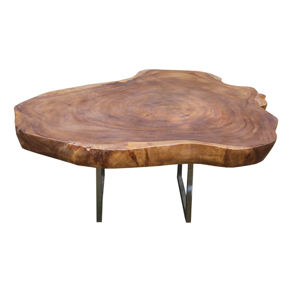 Natural Tree Stump Live Edge Coffee Table Made Of Real Wood for sizing 1200 X 1200