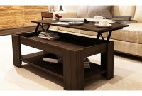 New Caspian Espresso Lift Up Top Coffee Table With Storage Shelf within measurements 1600 X 1200