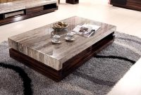 Newland Modern Marble Top Coffee Table And End Table K 028a Home with regard to sizing 1155 X 683