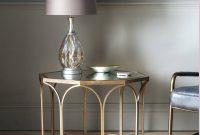 Octagonal Copper Coffee Table With Mirror Top Primrose Plum regarding measurements 1024 X 1024