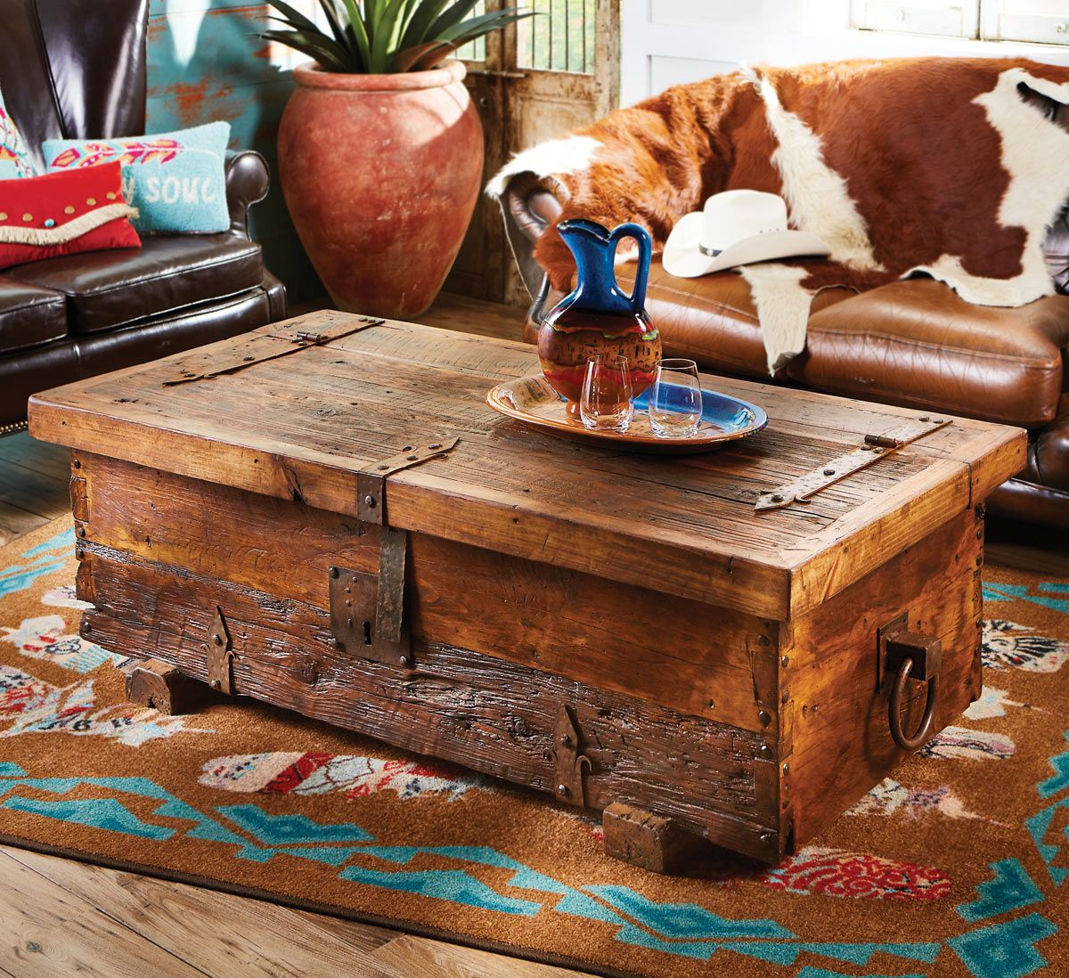Old West Rustic Coffee Table with sizing 1200 X 1098
